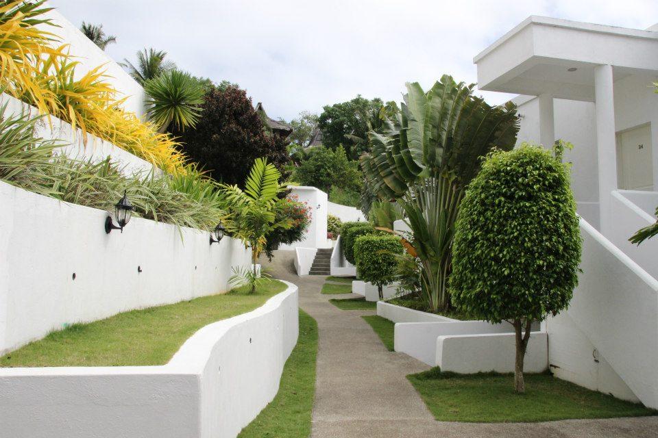 通往Boracay Penthouse的內部景致,大家要有心理準備路途不算短,有5分鐘之距,兼要行三、四層樓梯,才能到達頂樓的apartment。