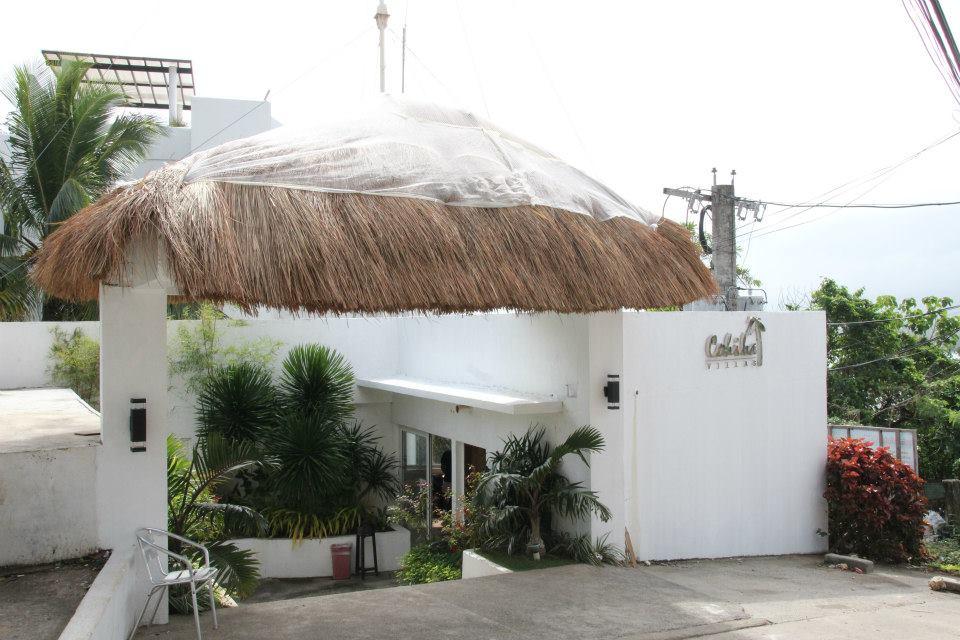 Cohiba Villas渡假村的入口。
