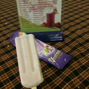 Kem Trang Tien香芋味冰條。