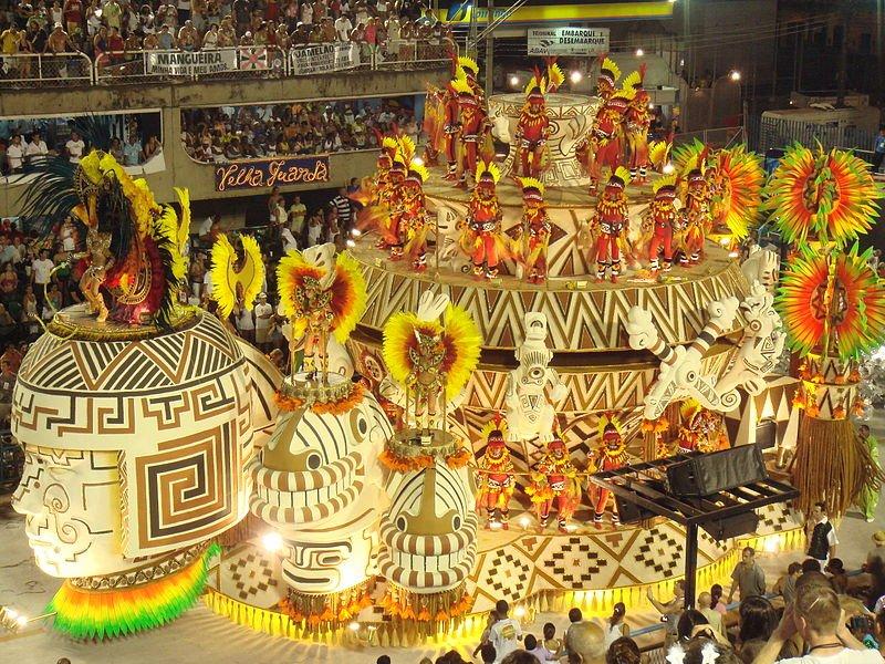 巴西里約熱內盧狂歡節 Carnival in Rio de Janeiro, Brazil