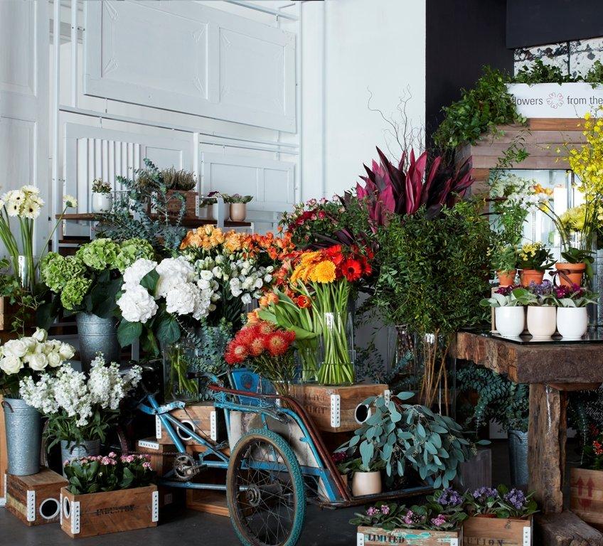 在Café入口的花檔flowers from the heart,由駐場花藝師每日提供各款盆栽、即製花束及訂製花束,更設有送貨及定期送花服務,想不到TREE愈來愈多元化,比起單純賣傢俬,這樣感覺更生活化。