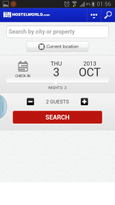 5.HostelWorld:青年旅舍、低價酒店賓館、民宿訂房,總之平,背包界必備apps。