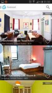 7.Airbnb:民宿預訂平台,近年旅遊住宿新勢力,個人認為有D住宿比酒店更靚,便值得住。操作似Couchsurfing,將自己間屋比陌生人住,但當然要收費,想住豪宅的人,付出幾百港紙一晚,可以住有後花園加泳池的大屋。