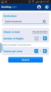 6.Booking.com:集各種住宿於一身的預定網,毋須預訂費,但no show的話,信用卡會被charge罰金。