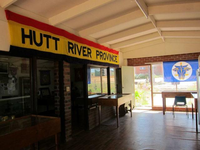 大部分人也是即日來回Hutt River Province,為了在護照上多加一個印。