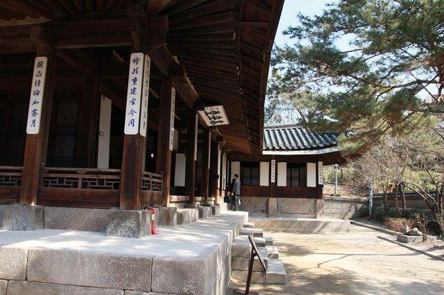 雲峴宮內的老安堂。
