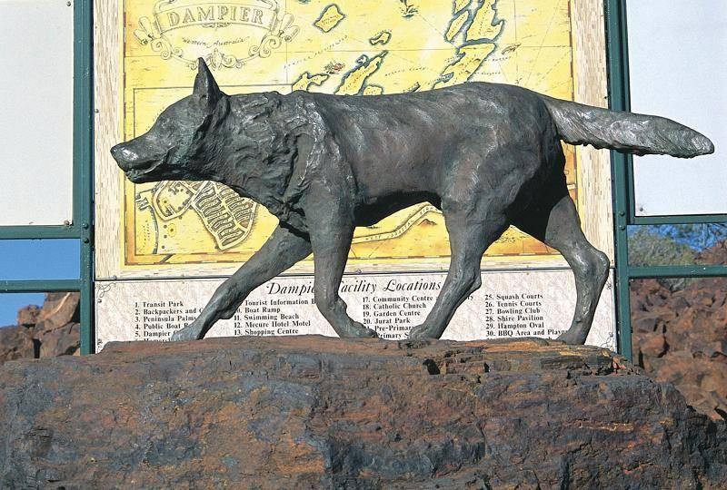 紅狗銅象。