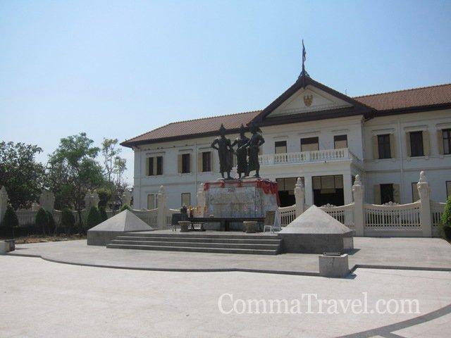 古城內另一地標,Three King博物館。