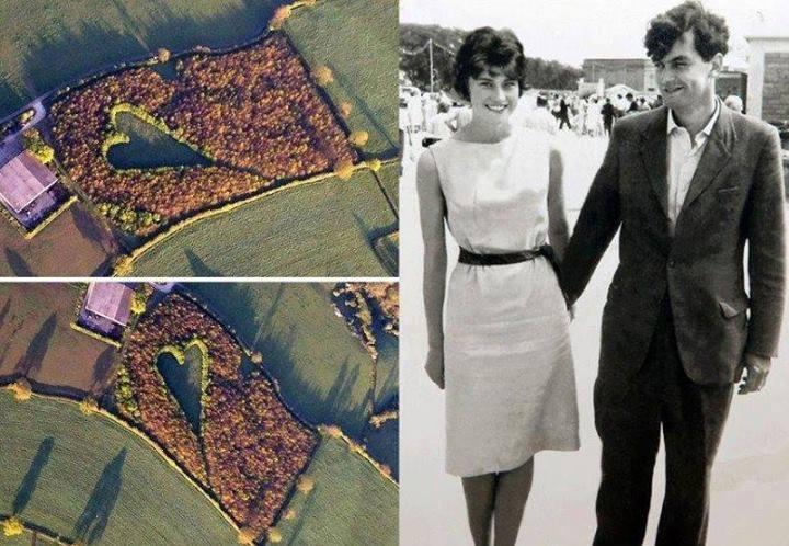 1960年,珍妮特和當時男友温斯頓72在一起,她用霍維斯的領帶當自己的腰帶。