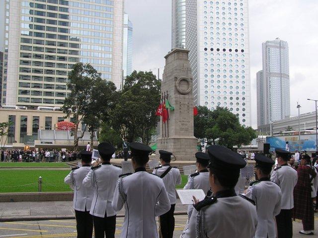 中環遮打道和平紀念碑。