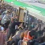 【新聞‧澳洲】乘客合力推開地鐵救人
