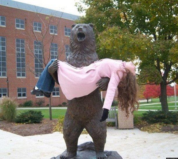 哈哈,有創意,不過小心整斷隻熊對手。