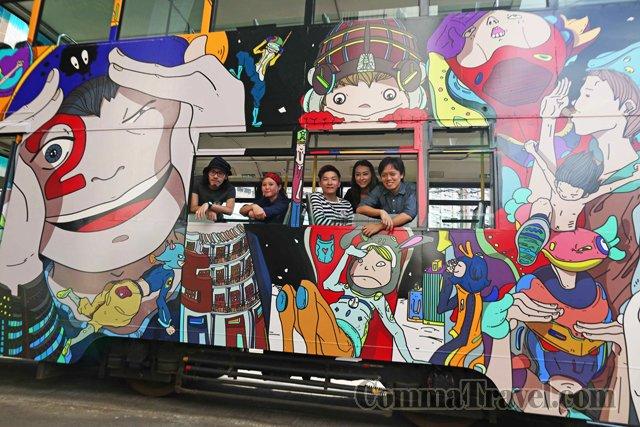 左起:羅浩光、夢特嬌ž全、杜翰煬、邱詠筠、姜智傑。(圖片來源:香港藝術中心)